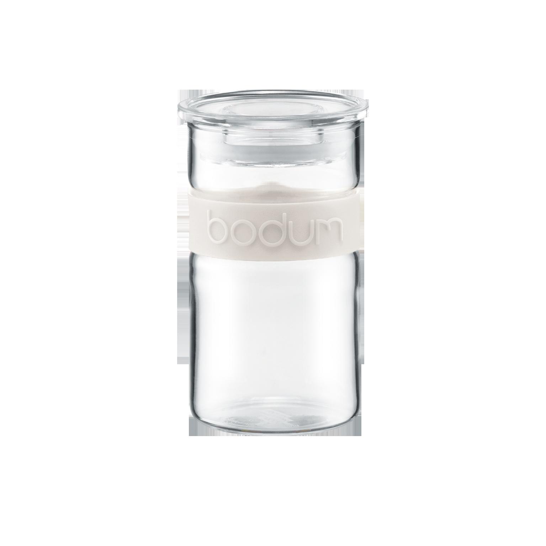 Presso tarro cristal con tapa 0 25l blanco comprar online - Tarro cristal con tapa ...