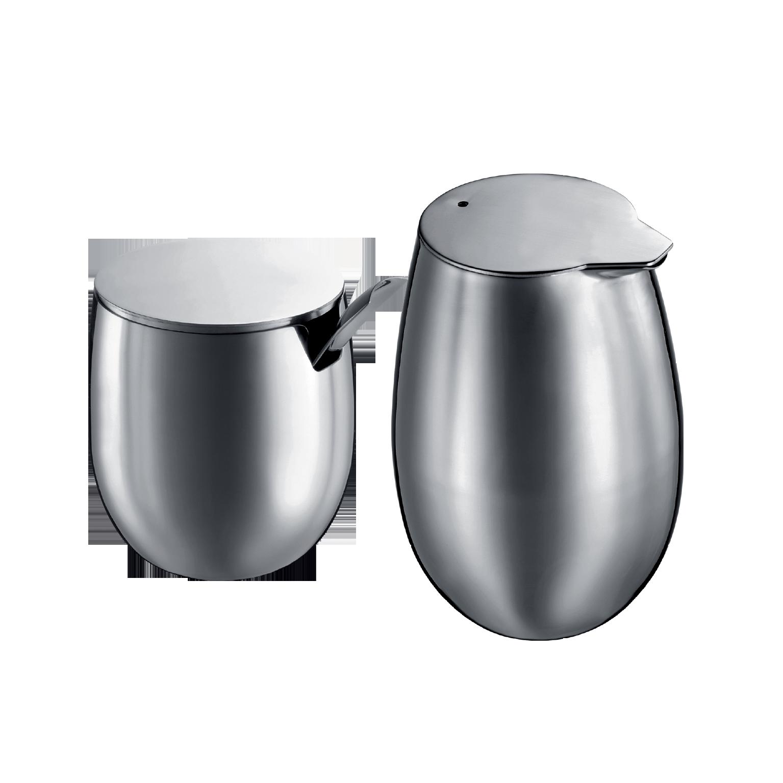 bodum columbia set sugar bowl and milk jug buy online - bodum columbia set sugar bowl and milk jug