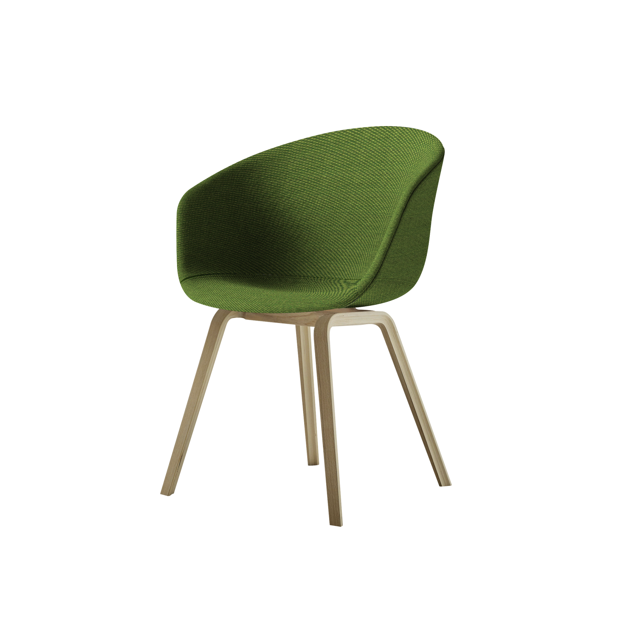 About a Chair Low Green Wood Buy online